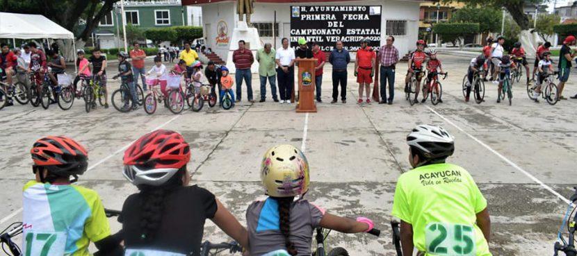 Agua Dulce, Sede del campeonato estatal de ciclismo