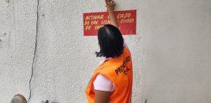 Agua Dulce participa con éxito en macro simulacro 2020