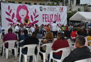 Conmemoran el día internacional del día de la mujer