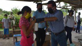 """""""No vamos abandonar a nuestra gente, seguiremos apoyando a las comunidades rurales"""": Sergio Guzmán Ricárdez"""
