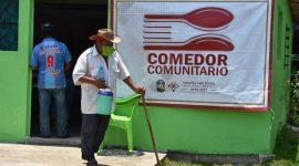 Sergio Guzmán Ricárdez traslada mega operativo de asistencia alimentaria a zona rural.