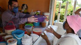 Gobierno municipal instalará comedores en Ejidos de Agua Dulce