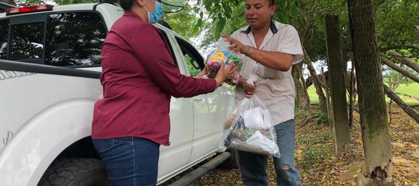 DIF Municipal continúa con entrega de despensas
