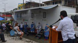 Hidrómilos reciben atención médica gratuita