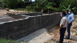 Alcalde Javier Reyes Ramírez realiza supervisión de obras en ejidos de Agua Dulce