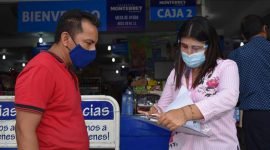 Se realiza supervisión de medidas sanitarias en establecimientos comerciales de Agua Dulce
